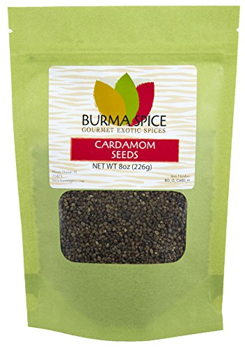 Cardamom Seeds : Whole : Indian Herb Spice : Kosher (8oz.) by Burma Spice (Image #2)