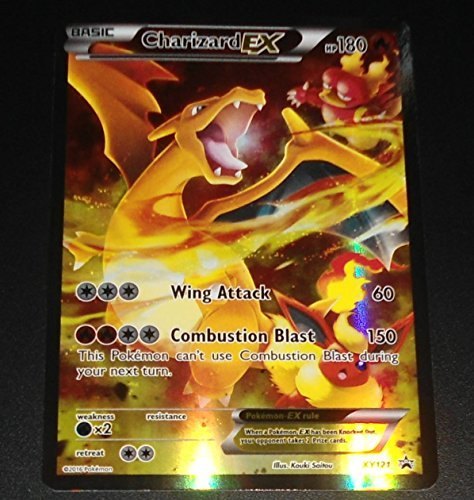 Charizard-EX - XY121 - Charizard-EX Red & Blue Box Promo ()