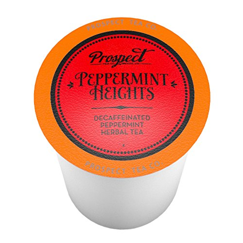 (Prospect Tea Peppermint Heights Single-Cup Tea for Keurig K-Cup Brewers, 40 Count)
