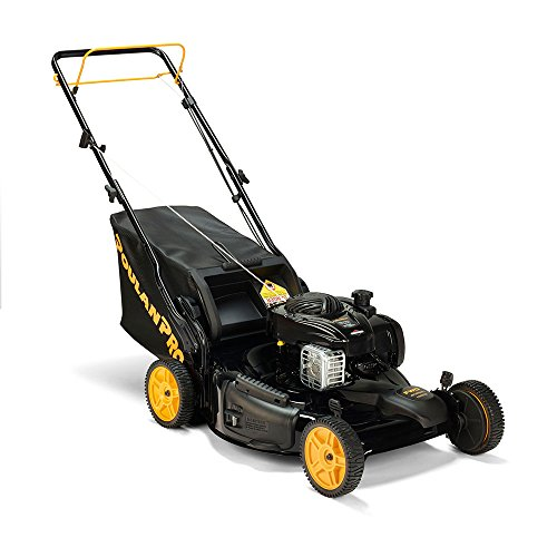 Poulan Pro Poulan Pro 961420140 PR550Y22RP Briggs 550E Side Discharge/Mulch/Bag 3-in-1 Lawnmower with 22-Inch Deck by Poulan Pro