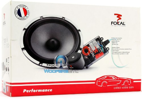 Focal P165V15 6.5'' 2-Way Component Speakers