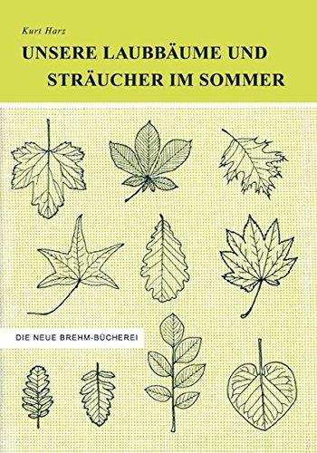 Unsere Laubbäume und Sträucher im Sommer: Das Buch der 1000 Bäume und Sträucher - Ein Bestimmungsbuch