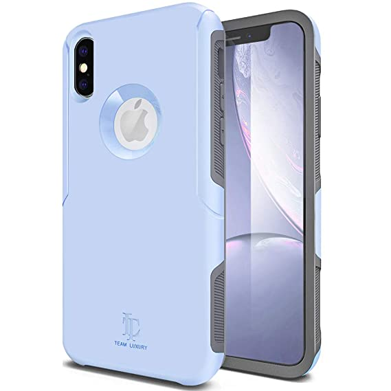 sale retailer 22625 ae1a5 TEAM LUXURY iPhone X Case/iPhone Xs Case, [Defense-x Series] Dura Layer  Shock Absorbing Technology Protective Phone Case - for Apple iPhone X/Xs  5.8 ...