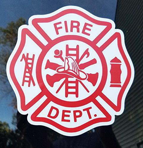 Minglewood Trading FIRE Department DEPT Die Cut Vinyl Sticker 5
