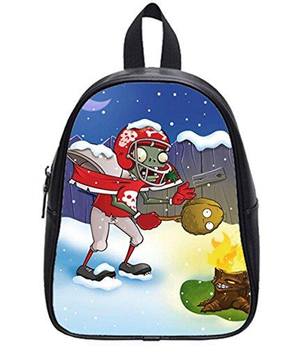 Zombies Pattern Soft PU Backpack School Bag Travel Bag outdoor Bag-Medium