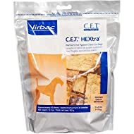 Virbac C.E.T. Hextra Premium Oral Hygiene Chews For Dogs (1 Pouch), Medium