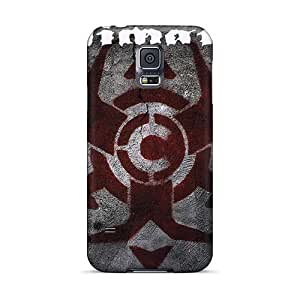 Samsung Galaxy S5 OBs15940Uzvc Unique Design Beautiful Chimaira Band Pictures Shockproof Hard Phone Case -RitaSokul