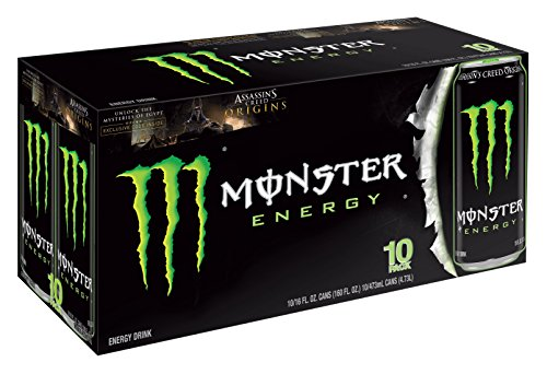 Monster Energy, Original, 16 Ounce (Pack of 20) (Monster Energy Cans)