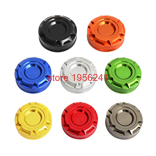 Alina-Shops - Motorcycle Accessories Rear Brake Reservoir Cover Oil Cap For Suzuki GSXR600 GSXR750 06-14 GSXR1000 05-14 SV650 N/S 99-08 ()