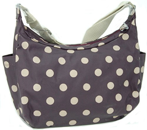 Plum in Crossbody Kidston 'Button Bag Spot' Oilcloth Cath Everyday a0xAEYq