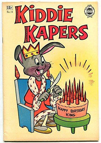 Kiddie Kapers #14 1964- Golden Age comic Reprint - VF