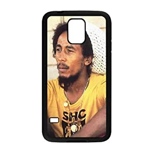 J-LV-F Customized Print Bob Marley Hard Skin Case For Samsung Galaxy S5 I9600