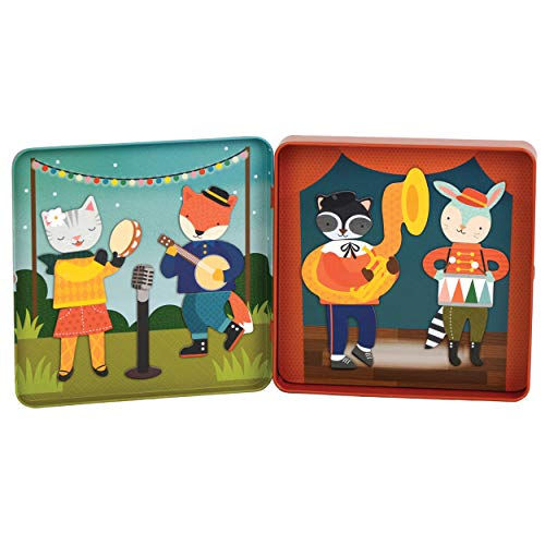 Petit Collage Mix and Match Magnetic Tin Animal - Magnet Collage