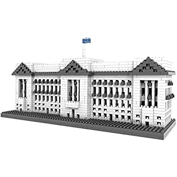 POCO DIVO Buckingham Palace Micro Block Building Set (1540 pcs)