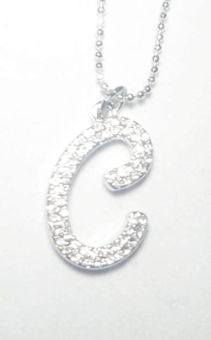VALERIA Silver Tone Name NecklaceChristmas Gifts For Her Anniversary Wedding