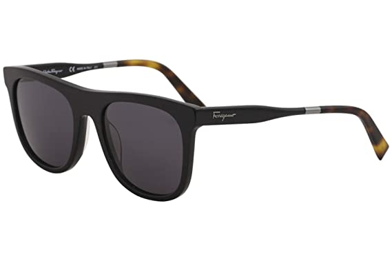 3ffd9441d13 Amazon.com  Salvatore Ferragamo Men s SF864S Black One Size  Clothing