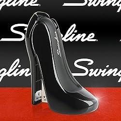 Swingline High Heel Stapler, 20 Sheets, Plastic, Black (S7070971)