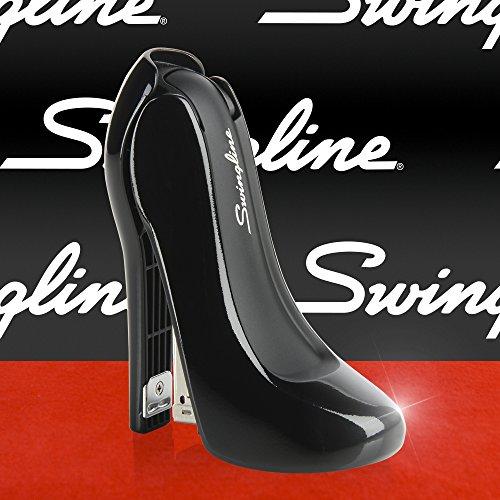 20 Sheets Black Swingline High Heel Stapler New,Free Ship Plastic S7070971