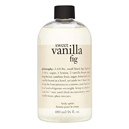 Philosophy Philosophy Sweet Vanilla Fig Body Spritz, 16 Ounces