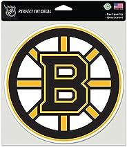 Wincraft NHL Boston Bruins 85638010 Perfect Cut Color Decal, 8-Inchx8-Inch, Black