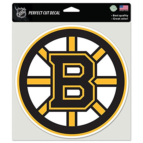 WinCraft NHL Boston Bruins 85638010 Perfect Cut Color Decal, 8