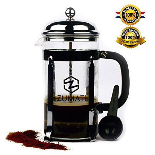 Great Deal! Zumati French Press 34 Oz Coffee and Tea Maker