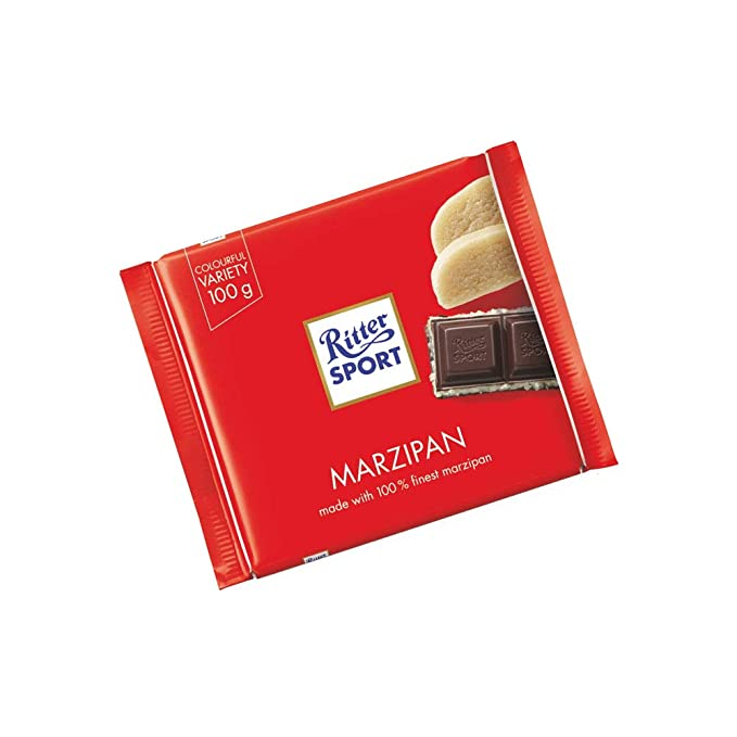 Ritter Sport Marzipan 100 G Pack Of 8 Grocery Gourmet Food Amazon Com
