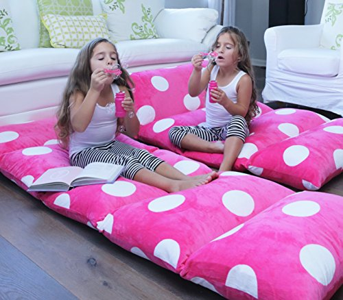 Floor Pillow To Watch Tv : Girl s Floor Lounger Seats Cover and Pillow Cover - Made of Super Soft - Luxurious Premium Plush ...