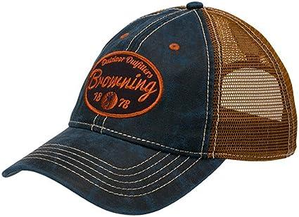 Navy Browning 308385951 Folsum Cap