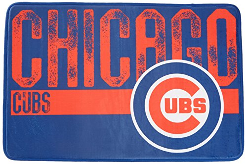 The Northwest Company MLB Chicago Cubs Embossed Memory Foam Rug, One Size, Multicolor by The Northwest Company
