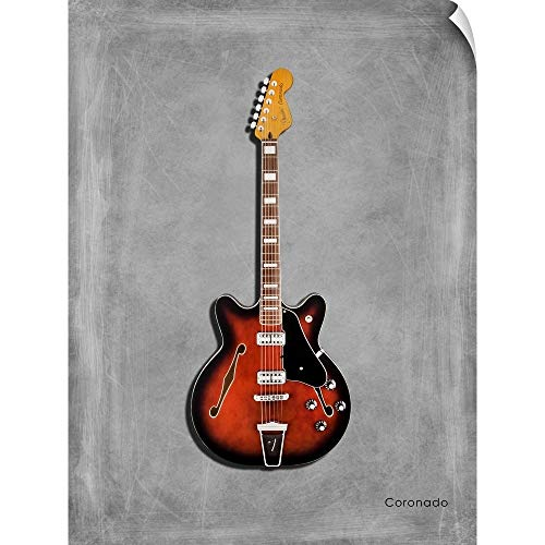CANVAS ON DEMAND Mark Rogan Wall Peel Wall Art Print Entitled Fender Coronado 12