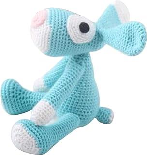 perfk Bastelset Häkelset, Hund Häkeln, mit Nähmaterial für Kinder & Erwachselne DIY Handwerk Spielzeugherstellung