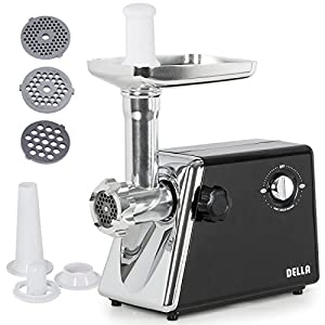 Meat Electric Grinder Sausage Stainless Maker Stuffer Steel Home New Kitchen Mincer Blades Butcher 1300w Cutting Commercial Food