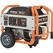 Generac Portable Generator 4000 Rated Watts - 5844