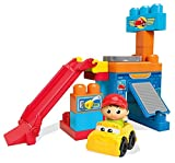 Mega Bloks First Builders Spinning Garage, Multi Color