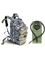 Ultimate Arms Gear ACU Army Digital Camouflage Heavy Duty Combat Multi-Functional Equipment Survival Assault Transport...