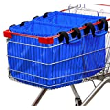 Hannah Grocery Cart Shopping Bag, Sold Individualy Package of 1 Bag