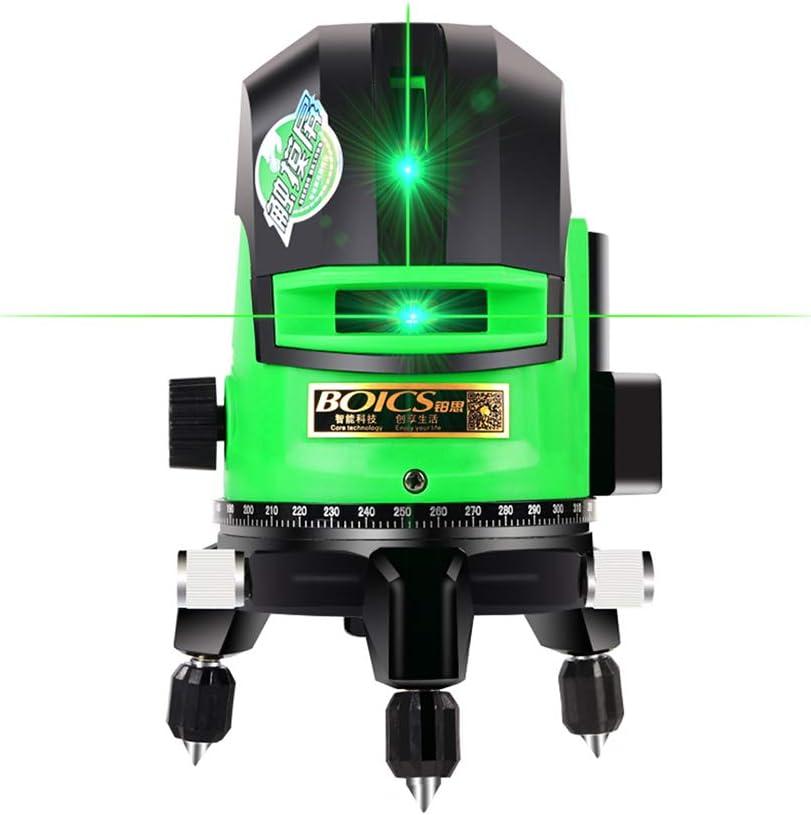 y compris 2 batteries horizontal 360 /° laser vert horizontal auto-/équilibr/é Laser crois/é vert 30M IP 54 /à partir de lignes horizontales verticales et horizontales laser horizontal 3 lignes