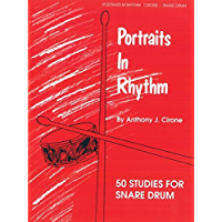 Portraits in Rhythm: 50 Studies for Snare Drum book cover