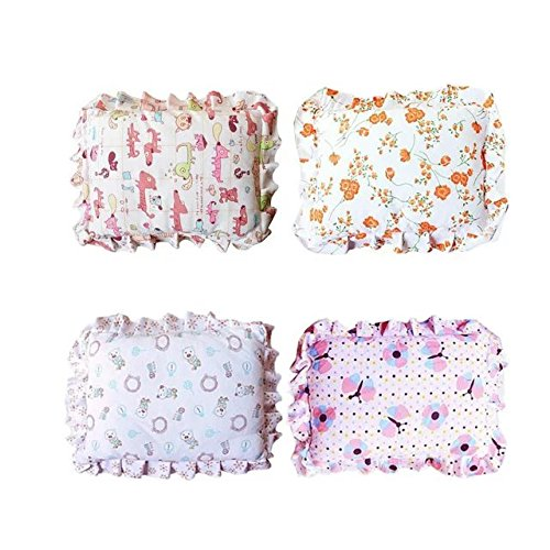 New Born Baby Infant Pillow Prevent Flat Head Toddler Sleeping Support Pillow Color In Random Baby Gift - Embroidered Crib Pillow