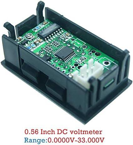 SODIAL Display Digitale A LED Da 0,56 Pollici 5 Bit DC 0-33.000V Voltmetro Tester Misuratore Di Tensione