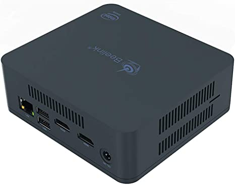 Beelink U55 Windows 10 Mini PC,Intel Core I3 5005U Processor ...