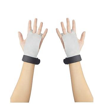 Mano Fitness deporte guantes para Crossfit gimnasio Entrenamiento de Fuerza pesas rusas por Ueasy, mujer hombre Infantil, blanco: Amazon.es: Deportes y aire ...