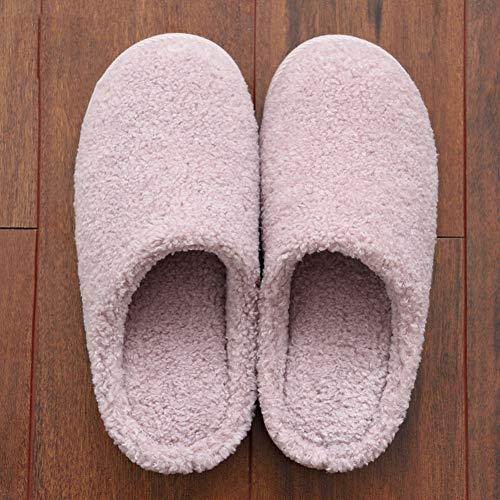 de en Maison 38 Lune Couleur Anti Couple Fond Pantoufles Taille intérieure D Coton étage A 39 Femme dérapant TD épais Pantoufles qwFAO1n