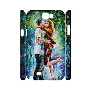 case Of The Kiss Customized Hard Case For Samsung Galaxy Note 2 N7100