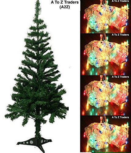 Pvc Christmas Trees.Buy A2z Pvc Christmas Tree Light For Home Decoration