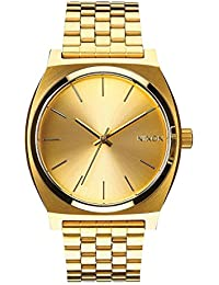 Time Teller A045511-00. Women's Gold Watch (37mm. Gold Metal Band/Gold Watch Face)
