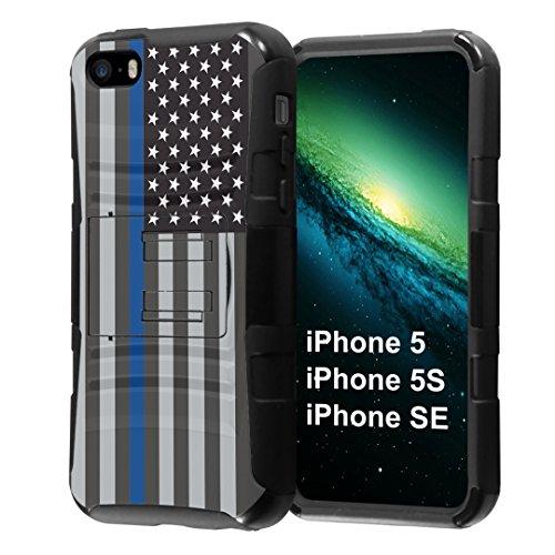 platinum iphone 5s case with clip - 8