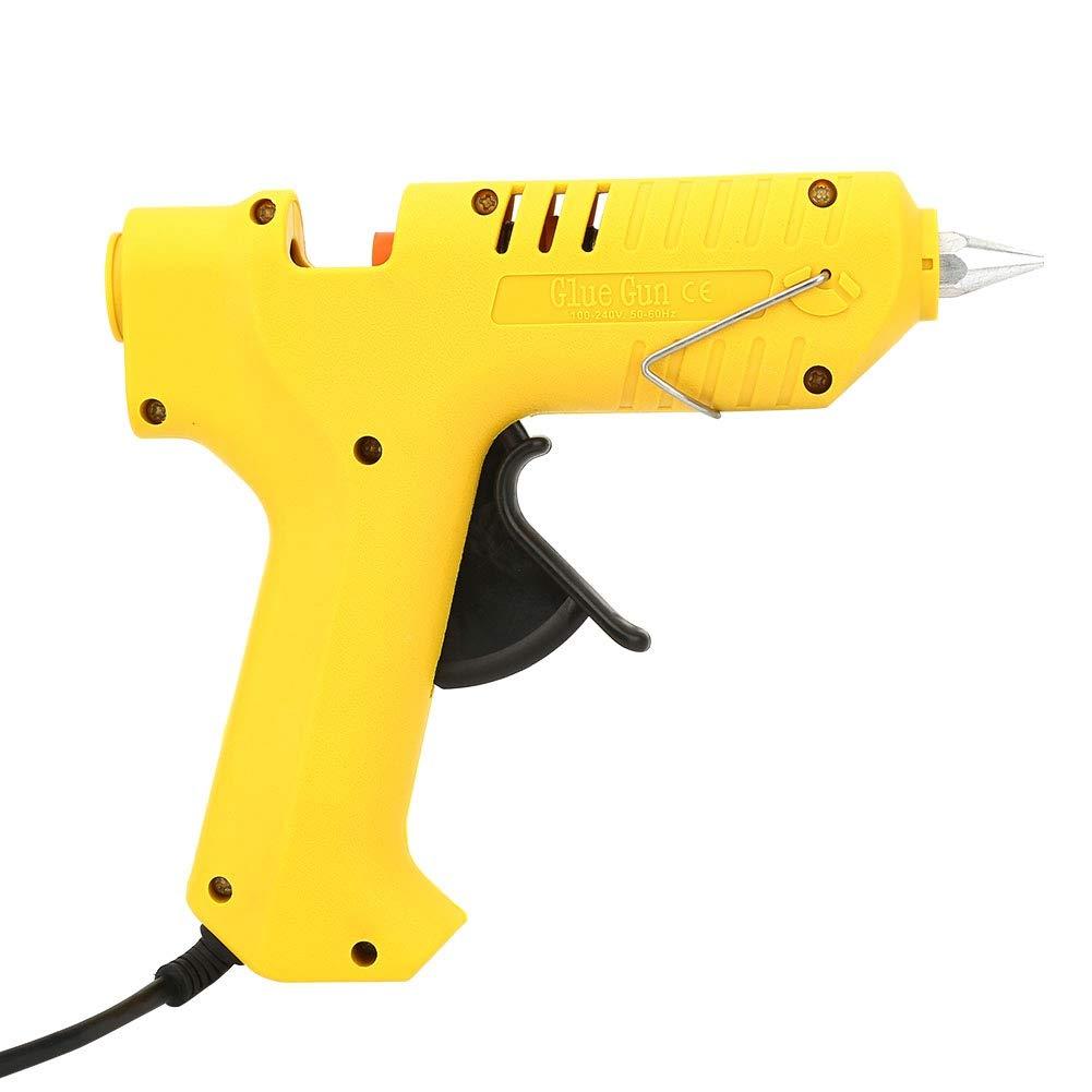 FTVOGUE 80 W Pistolet /À Colle Chaud Haute Temp/érature Chauffage Outil De R/éparation Pistolet /À Chaleur EU Plug 110V-230V pour le Scellement R/éparations Rapides