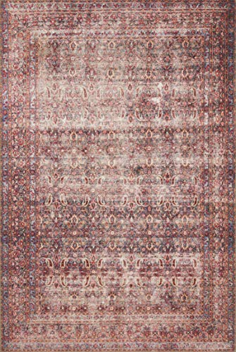 Loloi Loren Collection LQ-05 Classic Traditional Area Rug 1'-6